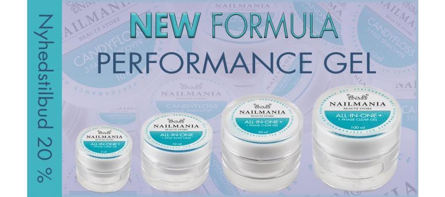 Ny Performance Gel serie - New Formula