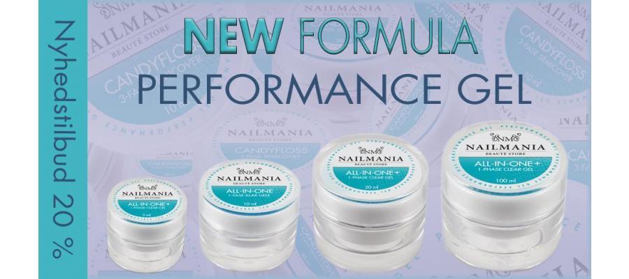 Ny Performance Gel serie - New Formula - Del II